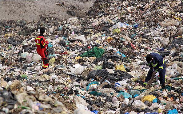 محل دفن زباله در کهریزک-تهران شناسی