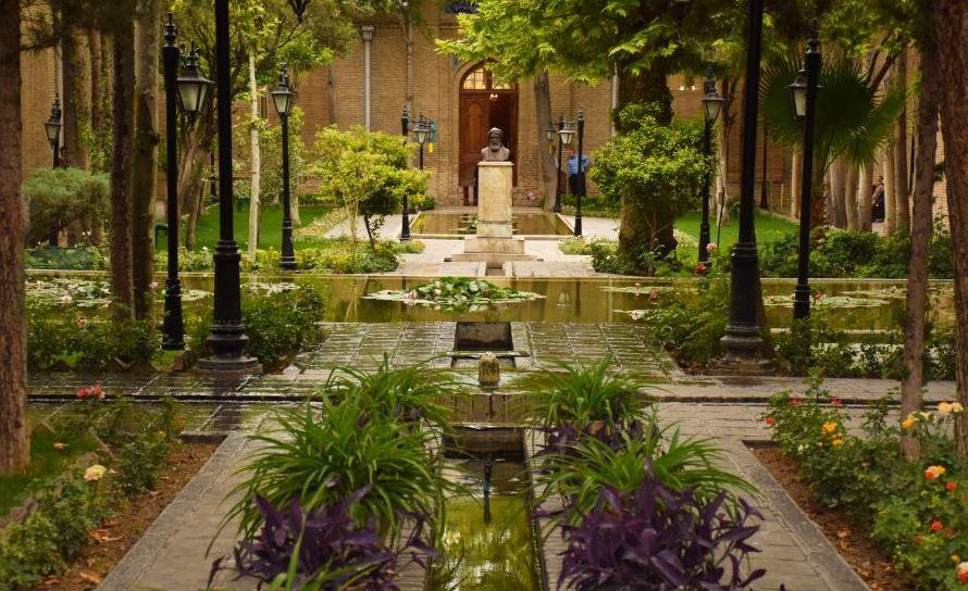 باغ نگارستان - تهران شناسی