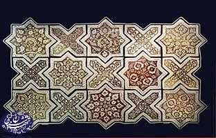 کاشی های امامزاده یحیی کهنه گل در موزه ویکتوریا آلبرت- تهران شناسی